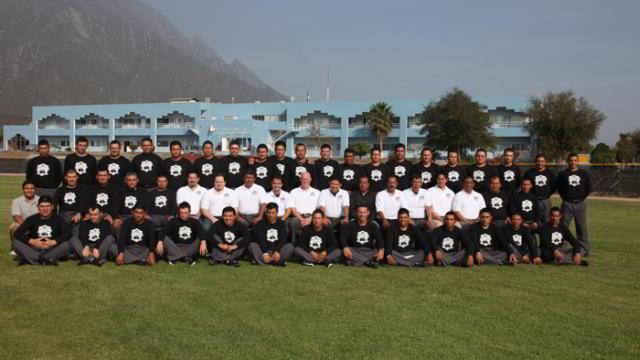 Grupo del campamento de umpires de la Academia de la Liga Mexicana