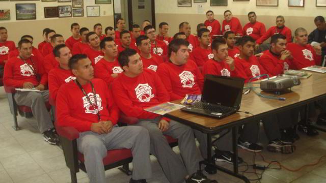 Campamento de umpires de la Liga Mexicana en la Academia