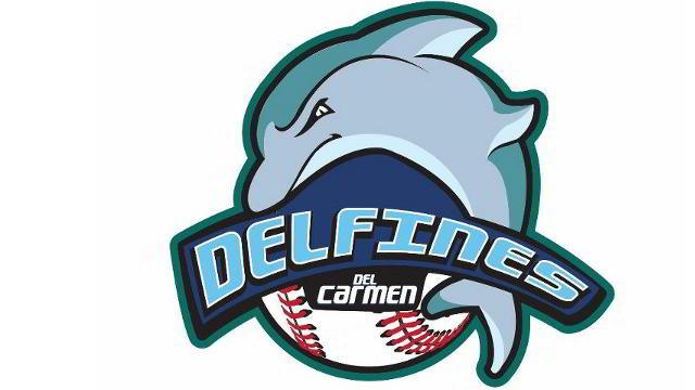 Logotipo de Delfines del Carmen de la Liga Mexicana de Beisbol