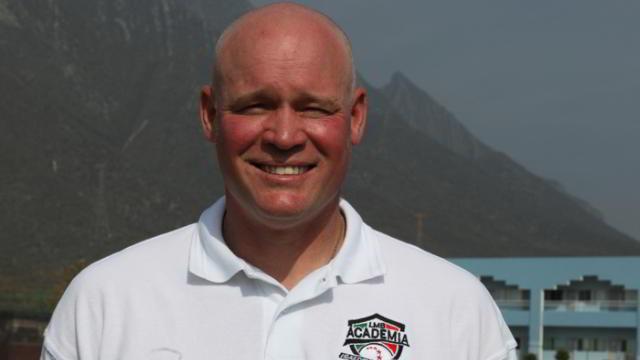 Ted Barret, umpire de Ligas Mayores en la Academia de la Liga Mexicana