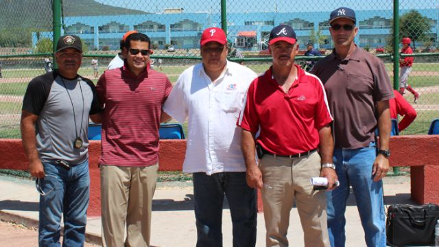 Scouts de Ligas Mayores en la Academia de la Liga Mexicana