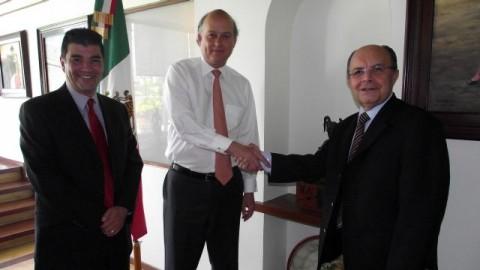 Firma del convenio entre la Cadena RASA y Liga Mexicana