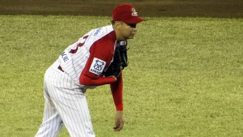 Tomás Solís de Rojos del Águila de Veracruz frente a Guerreros