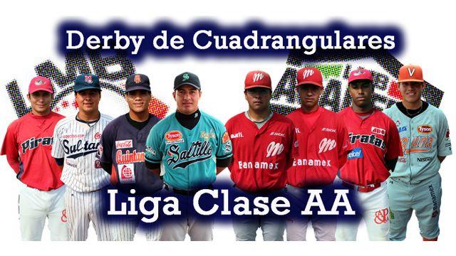 Participantes del Derby de Cuadrangulares 2012 en Clase AA