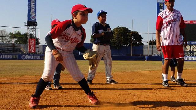 Academia infantil de beisbol de Venados de Mazatlán