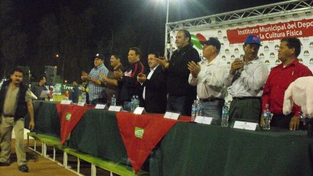 Actividades del club Águilas de Mexicali en 2012