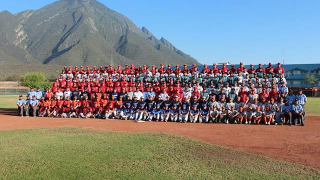 Fotografía oficial de la generación 2012 de la Clase AA de la Academia LMB