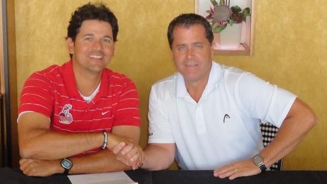 Carlos Subero y Andrés Cruz de Venados de Mazatlán