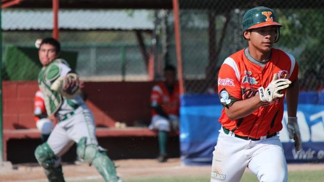 Guillermo Zamudio y Manuel Cruz en la Liga Clase AA de la Academia LMB