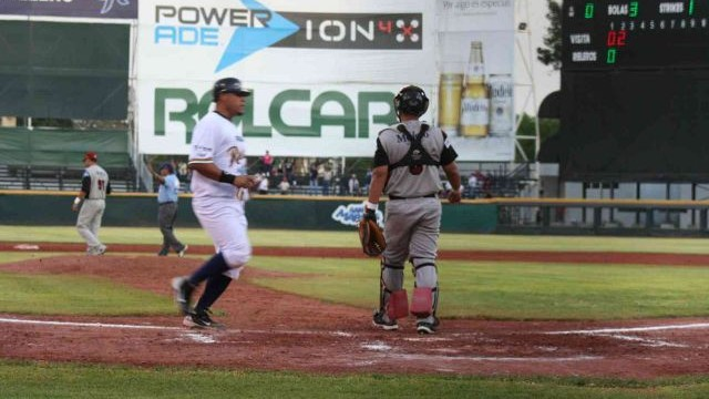 Carlos Rodríguez de Rieleros de Aguascalientes ante Petroleros