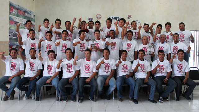 MEXOAX, campeón de la temporada 2012 de la Liga Clase AA de la Academia lMB