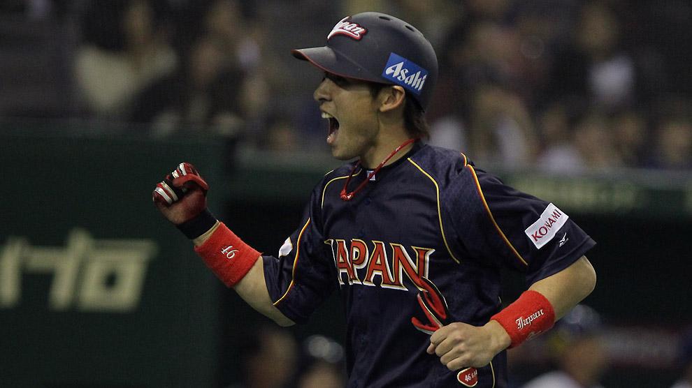 Yuichi Honda de Japón en el Clásico Mundial