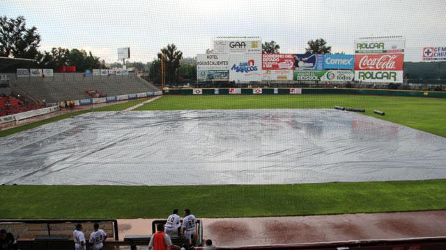 Lluvia en Aguascalientes