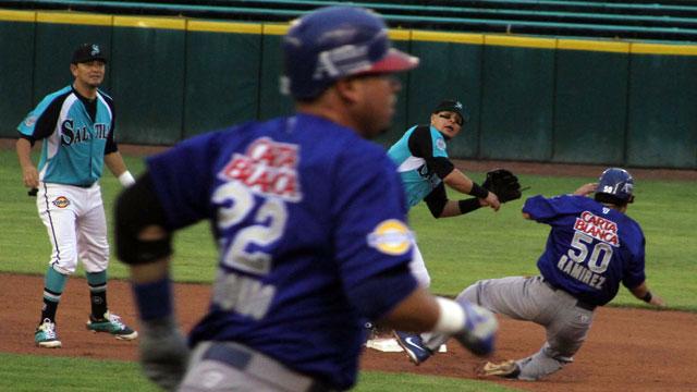 Manny Rodríguez de Saraperos de Saltillo